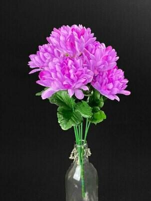 Krysanteemikimppu, violetti