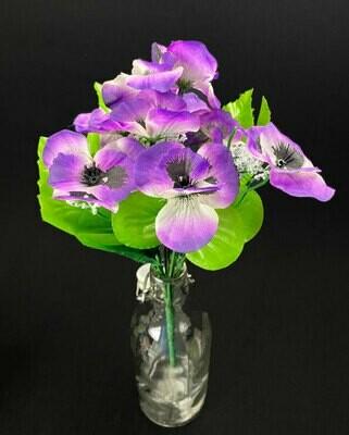 Orvokkikimppu, violetti/beige