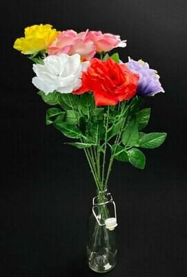 Ruusukimppu 9 kukkaa