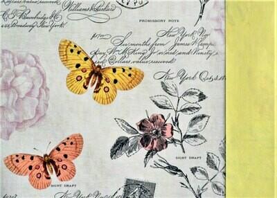 Lahjapaperi perhoset - ISO RULLA 100m