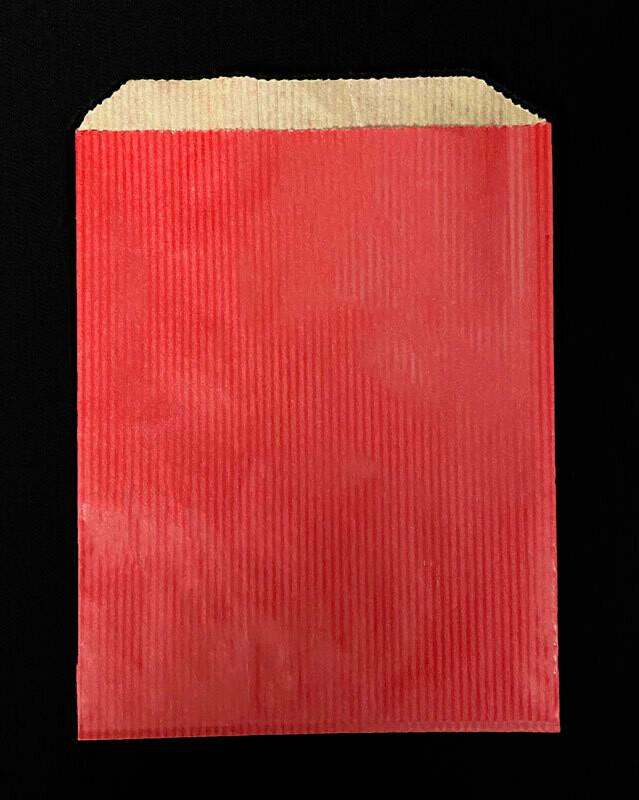 Paperipussi punainen 500kpl laatikko