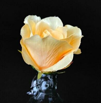 Ruusu -kukkapää, vaalea keltainen