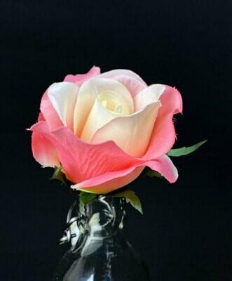 Ruusu -kukkaosa, vaaleanpunainen