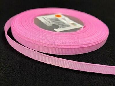 Grosgrain nauha 0,65cm/5m, vaaleanpunainen