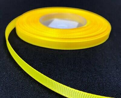 Grosgrain nauha 0,65cm/5m, keltainen