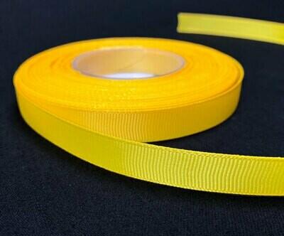 Grosgrain nauha 1,2cm/5m, keltainen