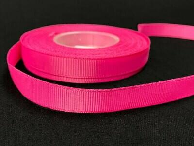 Grosgrain nauha 1,2cm/5m, pinkki