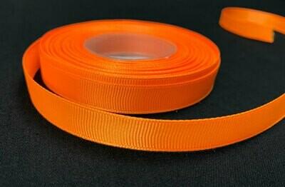 Grosgrain nauha 1,2cm/1m, oranssi