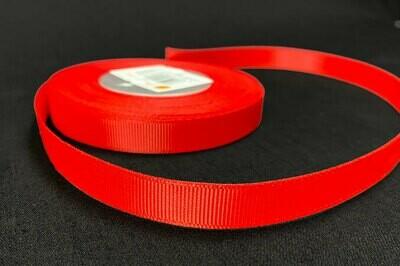 Grosgrain nauha 1,2cm/5m, punainen