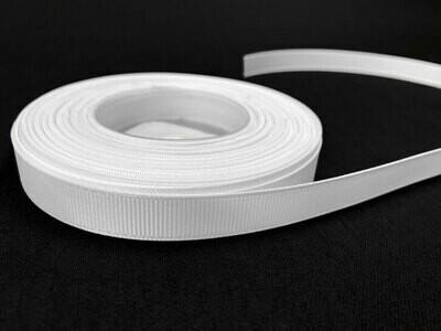 Grosgrain nauha 1,2cm/1,5m, valkoinen