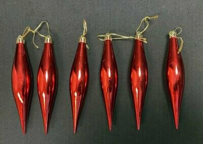Joulukoriste 6kpl, punainen