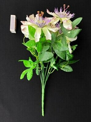 Passionflower tekokukkakimppu, vihreä