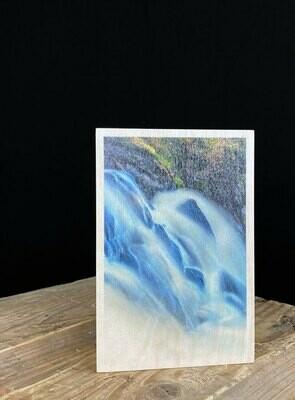 Puinen kortti; vesi
