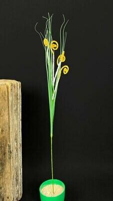 Koristeheinä 82cm, keltainen