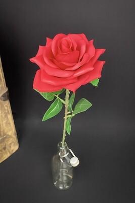 Ruusu tekokukka, punainen