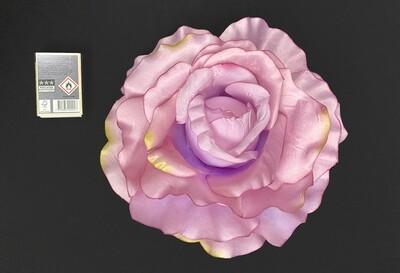 Ruusu jättikukka 20cm, lila/viininpunainen