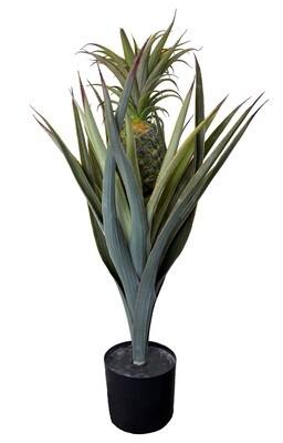 Keinotekoinen hedelmäkasvi - ananas 75cm