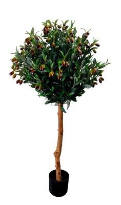 Oliivipuu tekokasvi - 120cm