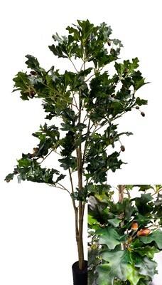 Tammi tekopuu tammenterhoilla - 160cm