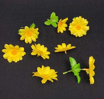 POISTOTUOTE: keltaiset päivänkakkarat 8kpl