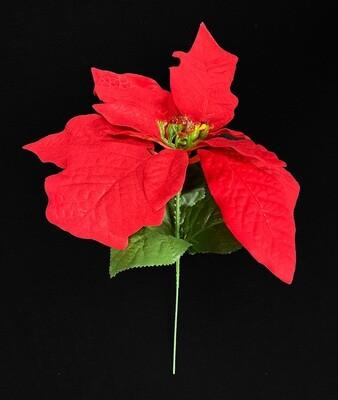 Punainen joulutähti tekokukka