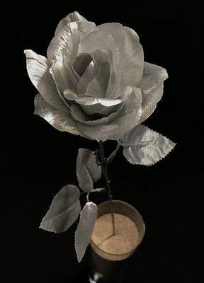 Ruusu, hopea