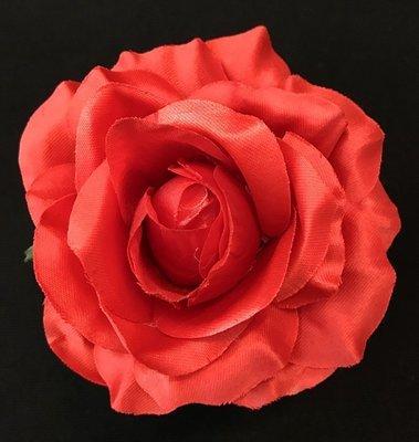 Ruusu-kukkapää, punainen
