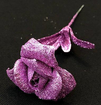 Kimalleruusu, violetti