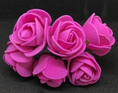 Softisruusu iso 6kpl, pinkki