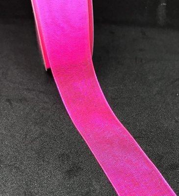 Organzanauha 2,0cm/5m, pinkki