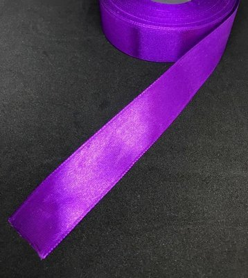 Satiininauha 25mm, violetti 10m