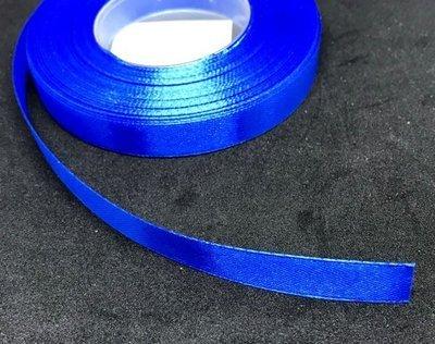 Satiininauha 12mm, sininen 10m
