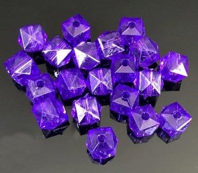 Muovikristalli 20kpl, violetti