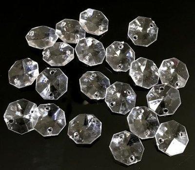 Muovikristalli 8-kulmainen 20kpl