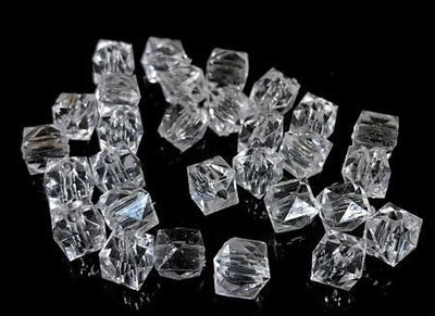 Muovikristalli kuutio 30kpl