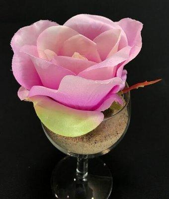 Ruusu-kukkapää, vaalea violetti