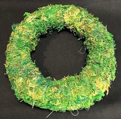 Sammalkranssipohja Ø25cm, vihreä