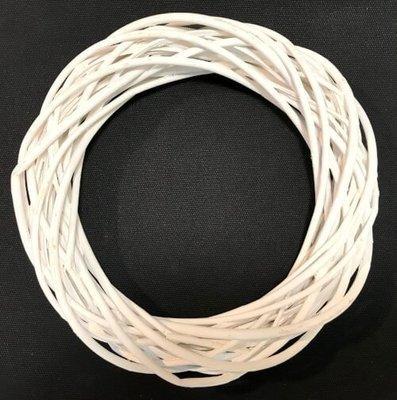 Kranssipohja Ø25cm, valkoinen