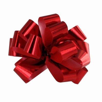 Kiiltävän punainen vetorusetti 5kpl