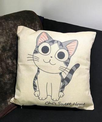 Sisustustyyny: suloinen kissa