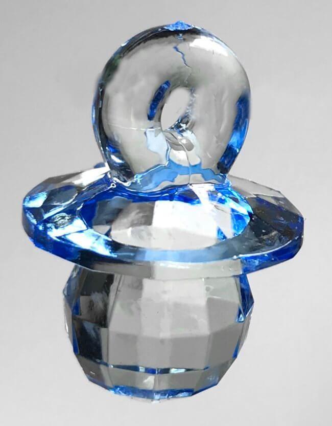 Tutti muovikristalli 5kpl, vaaleansininen