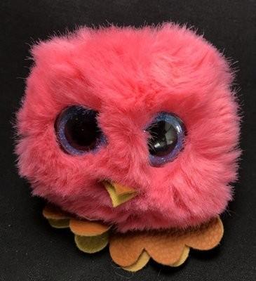 Reppukaveri: pöllö, korallin punainen