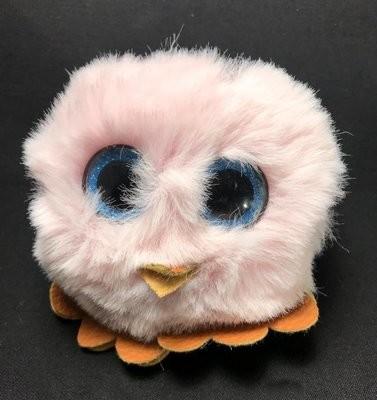 Reppukaveri: pöllö, vaaleanpunainen