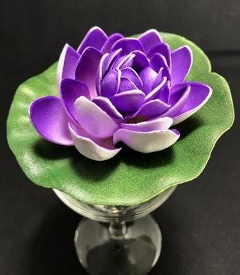 Pieni lumpeenkukka-kukkapää, violetti