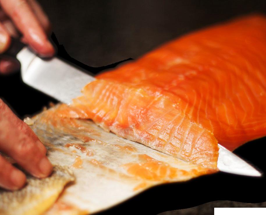 Hand Carved Salmon Lox