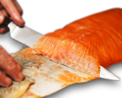 Cold sMoked Salmon Fillet Pre-Sliced