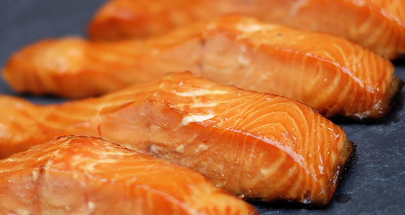 2 1 Lb Hot sMoked Salmon Portions