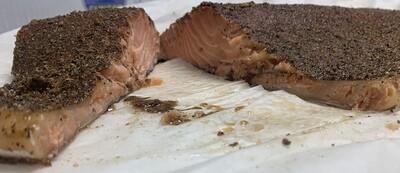 Pastrami Hot sMoked Salmon Fillet