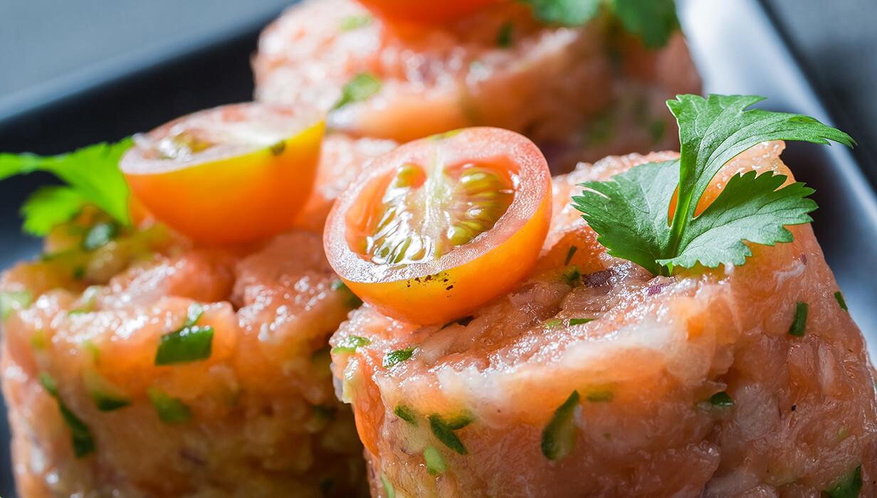 Fresh Salmon Tartar