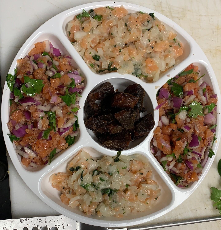 Seacuterie 5 Portions Platter